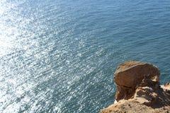 岩石海滨 库存图片