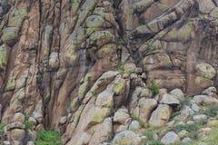 岩石片段。 库存图片