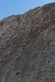 岩石特写镜头在岩石国家公园城市的 库存照片