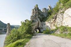 岩石现象美妙的岩石在保加利亚 免版税库存照片