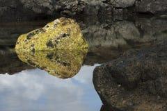 岩石白色 免版税库存照片