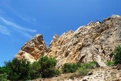 岩石白色 库存图片