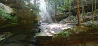 岩石的全景 免版税图库摄影