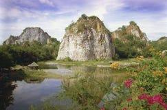 岩石的公园 免版税库存图片