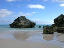 岩石的反映 免版税库存照片