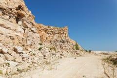 岩石的发展 库存图片
