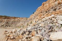 岩石的发展 免版税库存照片