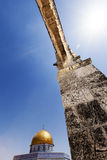 岩石的曲拱&圆顶 免版税库存图片