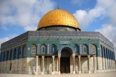 岩石的圆顶在耶路撒冷 免版税库存照片