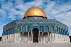 岩石的圆顶,耶路撒冷 库存图片