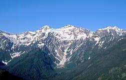 岩石的山峰 库存图片
