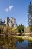 岩石的山 免版税图库摄影