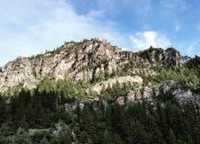 岩石的山 库存图片