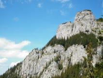 岩石的山 图库摄影