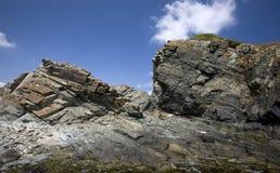 岩石的峭壁 库存照片