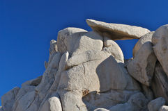 岩石的形成 免版税库存图片