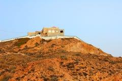 岩石的房子 图库摄影