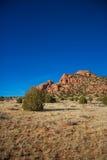 岩石的横向 库存照片