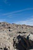 岩石的横向 免版税库存图片