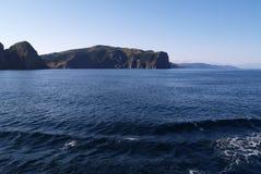 岩石的海岛 库存图片