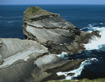 岩石的海湾 免版税图库摄影