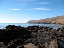 岩石的海湾 免版税库存图片