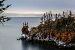 岩石的点 免版税图库摄影