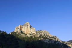 岩石的石峰 免版税库存图片