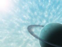 岩石的行星 库存照片