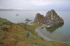 岩石的视图 库存图片