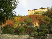 岩石的议院, Kamenets Podolskiy,乌克兰 库存照片