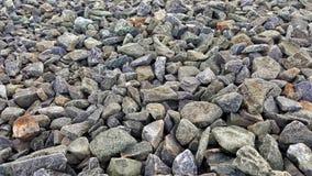 岩石的路径 库存照片
