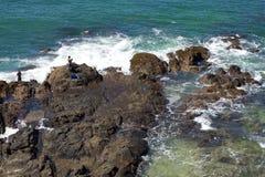 岩石的陆岬 库存图片