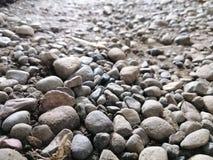 岩石的领域 免版税库存照片