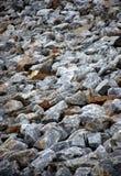 岩石的领域 库存照片