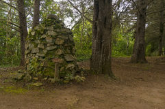 岩石石标或圣所 免版税库存图片