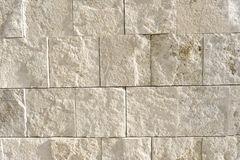 岩石石灰华墙壁 库存照片