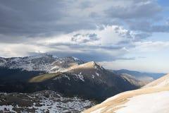 岩石科罗拉多的山 库存图片
