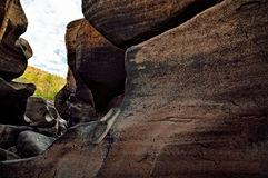 岩石空白 库存图片