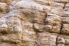 岩石纹理和表面背景 崩裂的和被风化的natur 库存图片