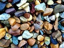 岩石纹理 等级,艰苦 colourfull岩石 库存照片