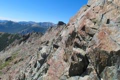 岩石范围山 库存照片