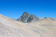 岩石范围山 免版税库存照片