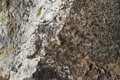 岩石表面难看的东西纹理 库存照片