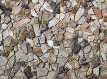岩石被仿造的墙壁 库存图片