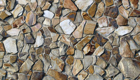 岩石被仿造的墙壁 图库摄影