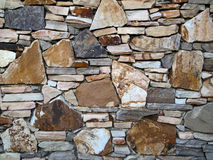 岩石被仿造的墙壁 免版税库存图片