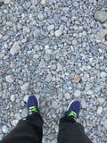 岩石视图 免版税图库摄影