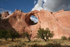 岩石视窗 库存照片