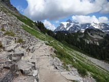岩石跨步形成 免版税图库摄影